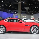 Jaguar F-Type R Coupe at LA Auto Show side 2
