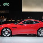 Jaguar F-Type R Coupe at LA Auto Show side view