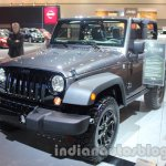 Jeep Wrangler Willys Edition front profile