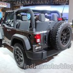 Jeep Wrangler Willys Edition rear profile