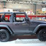 Jeep Wrangler Willys Edition side