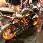 KTM RC125 rear three quarters