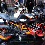 KTM RC200 profile