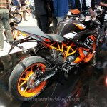 KTM RC200 rear three quarters