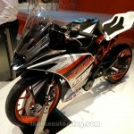 KTM RC390 front three quarters