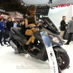 KYMCO XCITING 400i ABS front three quarters