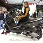 KYMCO XCITING 400i ABS rear three quarters