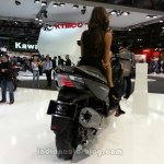 KYMCO XCITING 400i ABS rear view