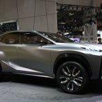 Lexus LF-NX Turbo front quarter
