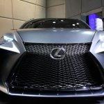Lexus LF-NX Turbo front