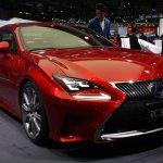 Lexus RC Coupe RC300h front quarter