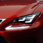 Lexus RC Coupe headlight
