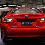 Lexus RC Coupe rear
