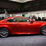 Lexus RC Coupe side