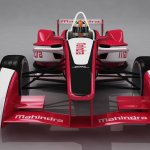 Mahindra Racing Formula E front
