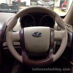 Mahindra XUV500 W4 steering wheel