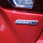Mazda3 SKYACTIV-CNG badge