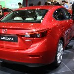 Mazda3 SKYACTIV-CNG rear three quarters right