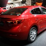 Mazda3 SKYACTIV-Hybrid rear three quarters right