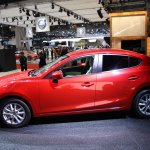 Mazda3 SKYACTIV-Hybrid side view