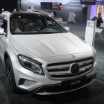 Mercedes GLA 250 front quarter