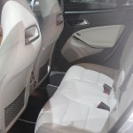 Mercedes GLA 250 rear seats