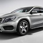 Mercedes GLA AMG Line front