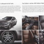 Mercedes GLA brochure Exclusive