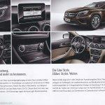 Mercedes GLA brochure Style
