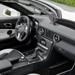 Mercedes SLK 55 AMG dashboard