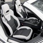 Mercedes SLK 55 AMG seats