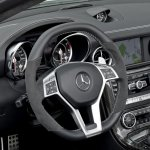 Mercedes SLK 55 AMG steerin wheel