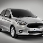 New Ford Ka Concept front three quarter
