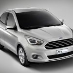 New Ford Ka Concept front three quarters