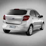 New Ford Ka Concept rear three quarter