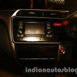 New Honda City central console