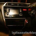 New Honda City dashboard part view