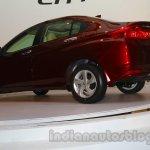 New Honda City rear three quarters angle
