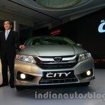 New Honda City unveiling in India