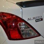 Nissan Almera Nismo spoiler