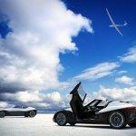 Nissan BladeGlider concept  door open