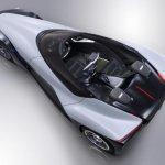 Nissan BladeGlider concept  top rear