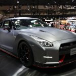 Nissan GT-R Nismo front three quarters