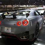Nissan GT-R Nismo rear three quarters right
