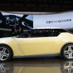 Nissan IDx Freeflow left side of the concept