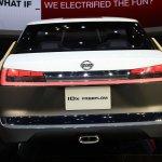 Nissan IDx Freeflow rear Tokyo Motor Show