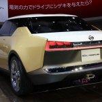 Nissan IDx Freeflow rear quarter Tokyo Motor Show