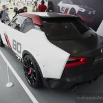Nissan IDx NISMO rear three quarters at the 2014 Goodwood Festival of Speed