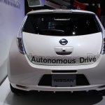 Nissan Leaf Autonomous Drive Technology rear