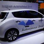 Nissan Leaf Autonomous Drive Technology side